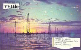 Amateur Radio QSL Card - WA3NXR/YV5 - Caracas, Venezuela - 1969 - 2 Scans - Radio Amateur
