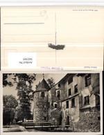 502505,Schloss Hallwil B. Seengen Brücke Pub E. Goetz 2580 Kt Aargau - AG Aargau