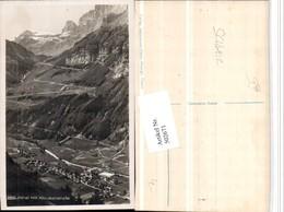 502671,Linthal Totale M. Klausenstraße Bergkulisse Kt Glarus - GL Glarus