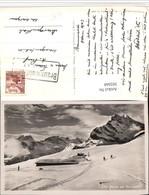 502668,Braunwald Bergkulisse Winterbild Kt Glarus - GL Glarus