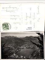 502888,Lugano Totale V. Monte San Salvatore Bergkulisse Kt Tessin - TI Tessin