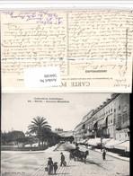 504189,Nice Nizza Avenue Massena Straßenansicht Kutsche - Taxi & Carrozzelle