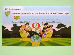 Myanmar - Vienne Convention For The Protection Of Ozone Layer - MINT - Myanmar (Burma 1948-...)
