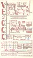 Amateur Radio QSL Card - VE3GCO - Atwood, Ontario CANADA - 1968 - Radio Amateur
