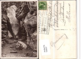 510557,Luxembourg Suisse Luxembourgeoise Entree Des Sept Gorges Schlucht - Ansichtskarten