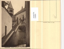 510561,Luxembourg Echternach Escalier Conduisant A Eglise Paroissiale Kirche - Ansichtskarten