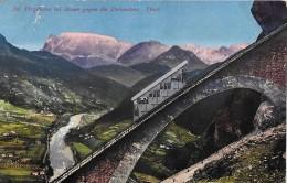 BOZEN → Die Virglbahn Mit Den Dolomiten Im Hintergrund, Ca.1920 - Bolzano (Bozen)