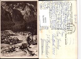 511056,Romania Busteni Muntii Bucegi Teilansicht Bergkulisse Winterbild - Rumänien