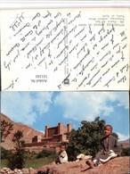 511243,Africa Afrique Du Nord Festung Burg Volkstypen Kinder - Ansichtskarten