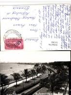 511302,Mexico Veracruz Boulevard Villa Del Mar Strand Straßenbahn - Mexiko