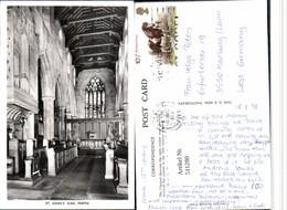 511280,Australia Australien Perth St. Johns Kirk Kirche Innenansicht - Ansichtskarten