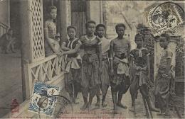 1656- CAMBODGE -Phnom-Penh -danseuses En Promenade Dans Le Palais -ed. Dieulefils - Kambodscha