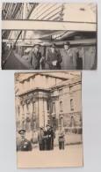 LONDRA LONDON N.2 FOTO FORM. CM. 10,5 X 7,5 MILITARI COLONNELLI CUTTY SARK CLIPPER NAVE VELIERO GREENWICH - Guerre, Militaire