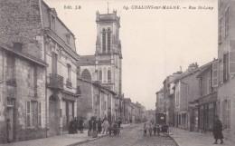 CHÂLONS SUR MARNE - MARNE  -  (51)  - CPA ANIMEE. - Châlons-sur-Marne