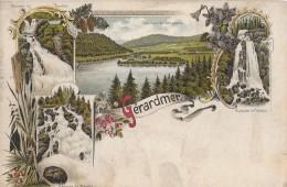 GÈRARDMER → Schöne Litho-Karte Anno 1900 - Gerardmer