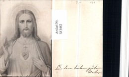 513442,Heiligenbildchen Andachtsbild Jesus Christus Herz Jesu - Andachtsbilder