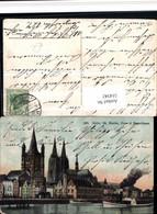 514342,Köln St. Martin Dom Binnenschiff Schiff Dampfer - Dampfer