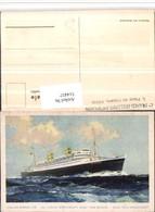 514457,Künstler AK Holland-America Line Hochseeschiff Schiff - Handel