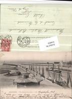 514459,Honfleur Vue Generale Des Jetees Hochseeschiff Dampfer Boote - Handel