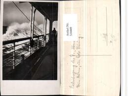 514449,Foto AK Hochseeschiff Schiff Deck - Handel