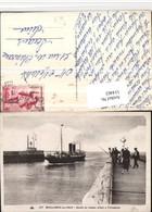 514463,Boulogne-sur-Mer Sortie Du Bateau Allant Folkestone Hochseeschiff Schiff - Handel