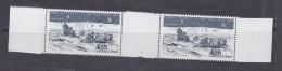 TAAF 1982 Traineau A Chiens 1v (pair) ** Mnh (TA127A) - Luchtpost