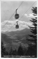 INNSBRUCK → Nordkettenbahn Beim Kreuzen Der Bahnen, Photo-Karte Ca.1950 - Innsbruck