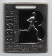 Médaille 15ème Semi-Marathon Boulogne-Billancourt 92100 Sans Ruban - Unclassified