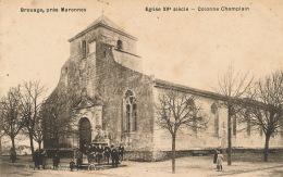 BROUAGE Près De MARENNES - Eglise - Colonne Champlain - Francia