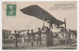 70 HAUTE SAONE - LUXEUIL Manoeuvres D´Armée De 1911 Sapeurs Tenant Les Ailes... - Luxeuil Les Bains