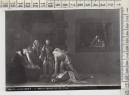 Malta - Caravaggio: Decollazione Di San Giovanni Battista - Saint - E. Richter, Pittura Quadri - Pittura & Quadri