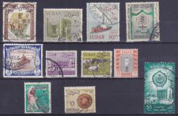 Lot Sudan Soudan  (see Scan) (Mix92) - Soudan (1954-...)