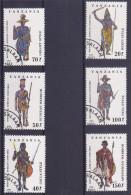 Lot Tanzanie Tanzania Guerrier Warrior African Costume (see Scan) (Mix96) - Tanzanie (1964-...)
