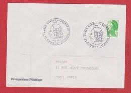 Enveloppe De Clermont Ferrand  --  Pour Paris  --  5 Et 6 Nov 1983 - Postmark Collection (Covers)
