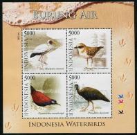 Indonesia (2014) - Block -   /  Aves - Birds - Oiseaux - Vogel - Independence - Vogels