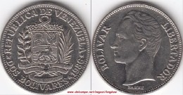 VENEZUELA 2 BOLIVARES 1986 KM#43 - Used - Venezuela
