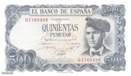 (B0740) SPAIN, 1971. 500 Pesetas. P-153a. UNC - [ 3] 1936-1975 : Regency Of Franco