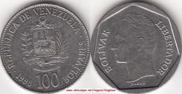 VENEZUELA 100 BOLIVARES 1998 KM#78.1 - Used - Venezuela