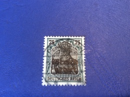 Memel Memelgebiet Cad / Stempel PLASCHKEN 1920 Geprüft Dr. Petersen BPP Michel 8a Germania - Memel (1920-1924)