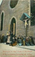 CINCINNATI - OHIO - USA - ¨MT. ADAMS WORSHIPING ON GGOD FRIDAY AT THA CURCH - PAQUES - 1904. - Cincinnati