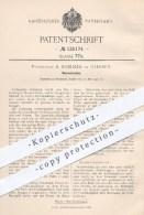 Original Patent - Prof. R. Sommer , Giessen , 1901 , Wasserschuh , Wasserschuhe , Schuh , Schuhe , Wassersport , Sport ! - Historische Documenten