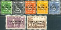 FINLAND 1941-42 Oost Karelien Opdruk Zwart PF-MNH-NEUF - Finland