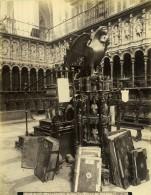 Espagne Tolede Toledo Cathedrale Detail Du Choeur Catedral Coro Ancienne Photo Alguacil 1870 - Anciennes (Av. 1900)