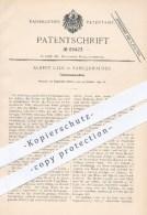 Original Patent - Albert Ufer In Sangerhausen , 1892 , Feilenhaumaschine , Feile , Feilen , Metall , Werkzeug , Meissel - Historische Dokumente