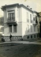 France Nice Nouvel Immeuble Façade Maison Ancienne Photo 1910 - Places