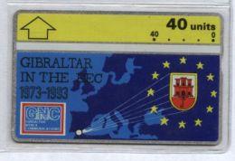 Gibraltar 308A - EEC, 40u