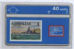 Gibraltar 306A - HMS Hood, 40u