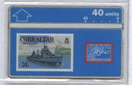 Gibraltar 306A - USS Gleaves, 40u