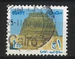 EGYPT 2005 Definitives – Old Egyptian Art; Sneferu Pyramid Postally Used MICHEL # 2587B - Egypt