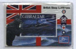 Gibraltar 608L - HMS Starling, 50u - MINT